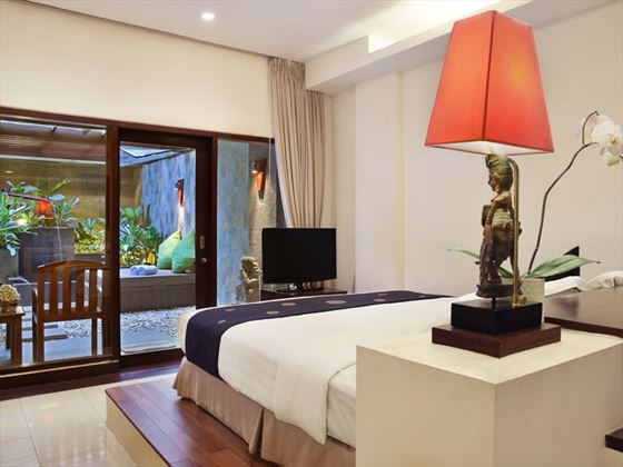 Private Courtyard Room at Bali Mandira