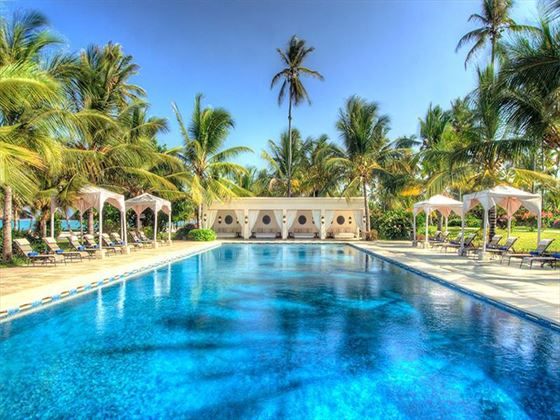The Baraza pool