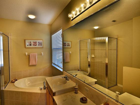 Bathroom at Sarasota Bradenton Area Pool Homes