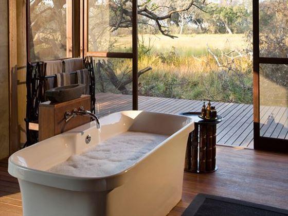Bathroom at Xudum Delta Lodge