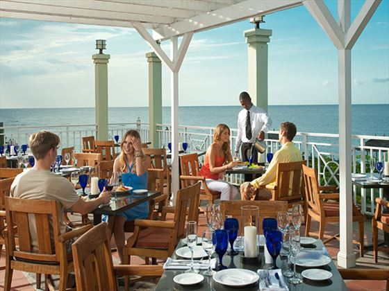 Bayside restaurant at Sandals Grande Riviera Beach & Villa Golf Resort