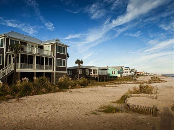 Beach houses of Charleston