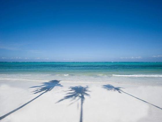 Beach location at Baraza Resort & Spa