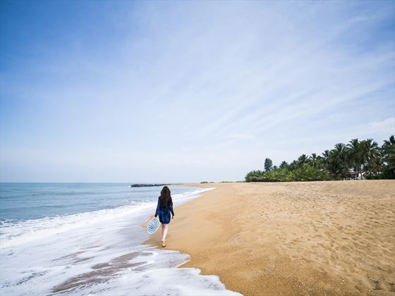 Beach near Anantara Kalutara
