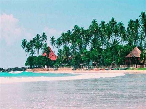 Beach views at Dickwella Resort