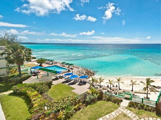Beach views from Rostrevor Hotel