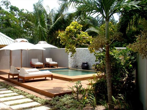 Beach Villa Plunge Pool