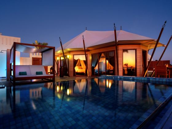 Spa Sactuary Tented Pool Villa