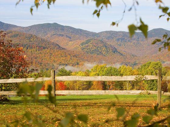 Vermont's beautiful rolling landscape