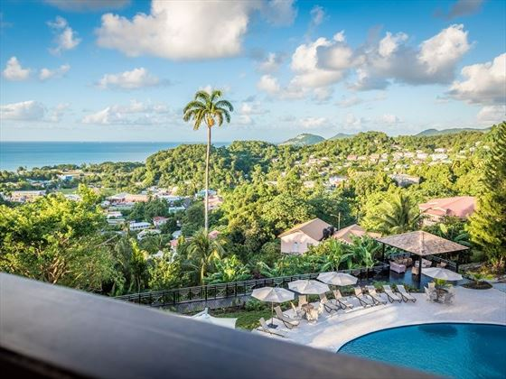 Views from Bel Jou, St Lucia
