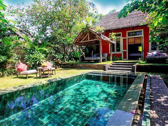 Bhagavat Gita Suite Pool, Hotel Tugu Lombok