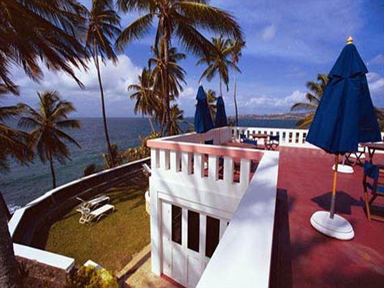 Blue Haven terrace area