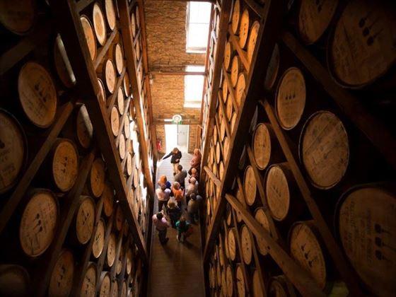 Bourbon Rickhouse tour