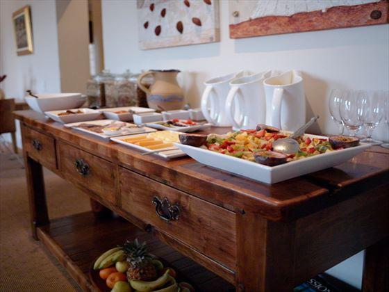 Breakfast buffet at Four Rosmead
