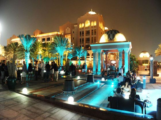 Breeze Lounge terrace at Emirates Palace