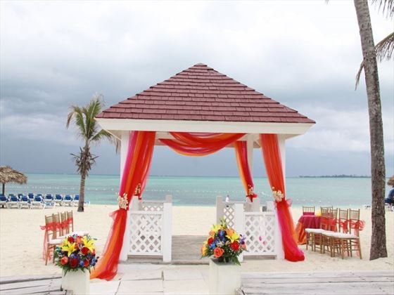 Breezes Bahamas weddings