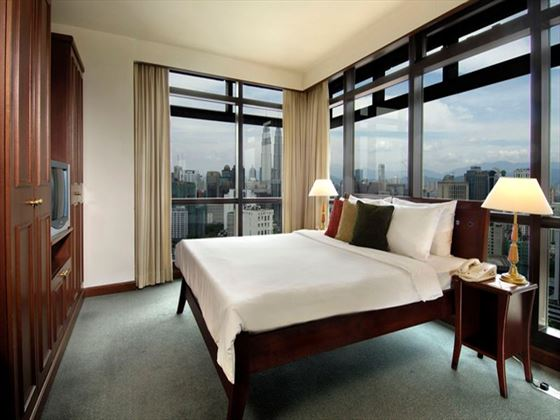 Brooklyn Suite Master Bedroom at Berjaya Times Square Hotel