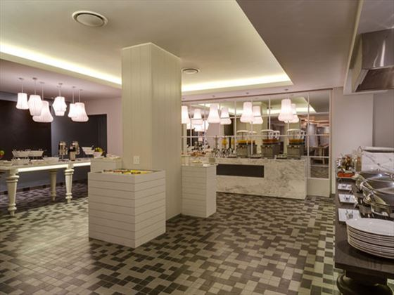 Buffet dining at Protea Hotel Sea Point