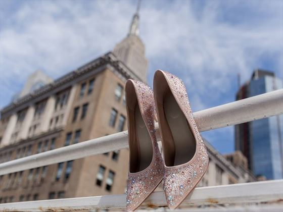 Bridal shoes, New York