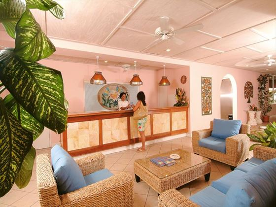 Butterfly Beach reception area