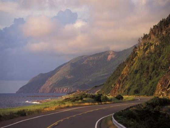 Cabot Trail at Dawn
