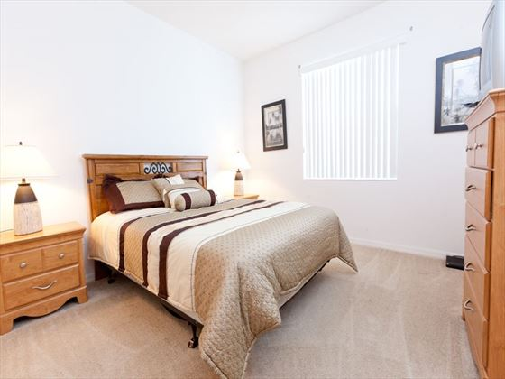 Typical bedroom of a Calabay Parc @ Tower Lakes Executive Home