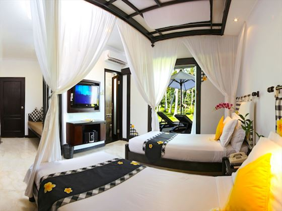 Deluxe Room at Candi Beach Resort