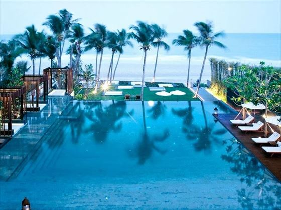 Cape Nidhra beachfront pool