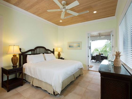 Cape Santa Maria Beach Resort, Long Island, Two Bedroom Beach Front Villa bedroom