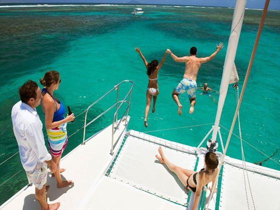 Catamaran cruise at Zilwa Attitude