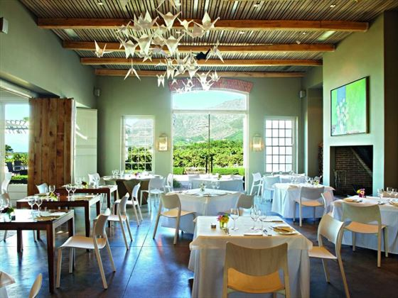 Catharina's Restaurant at The Steenberg Hotel