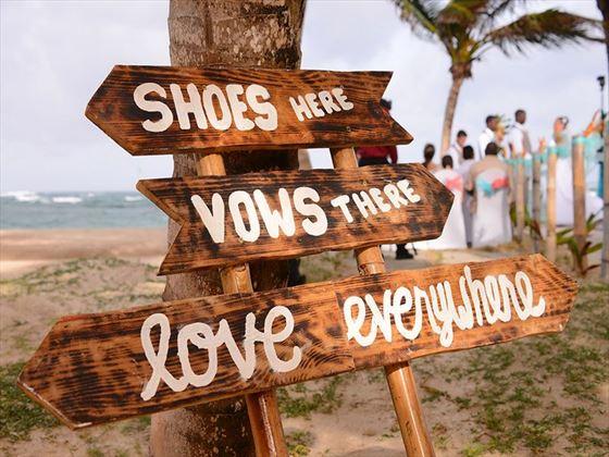 Weddings at Coconut Bay