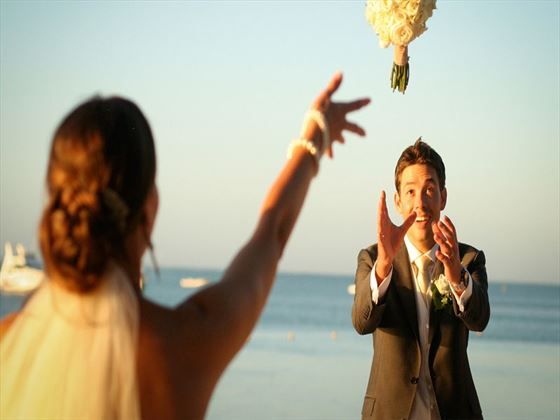 Beautiful weddings at Coin de Mire