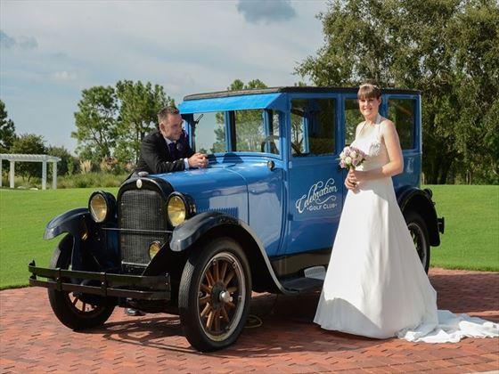 Vintage style wedding in Orlando
