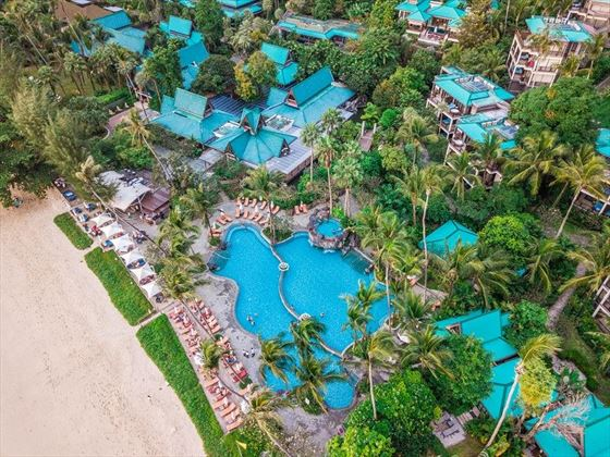 Centara Grand Beach Resort Krabi Aerial View