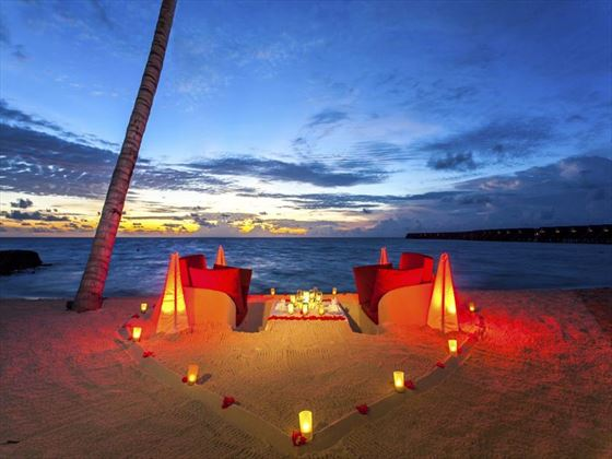 Romance lives at Centara Ras Fushi Resort & Spa