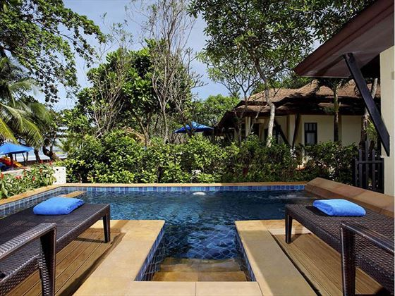 Luxury pool villa