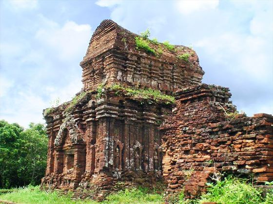 Champa Tower ruin