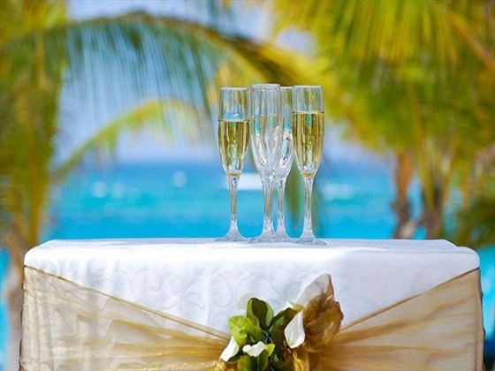 Champagne at The Verandah Resort and Spa