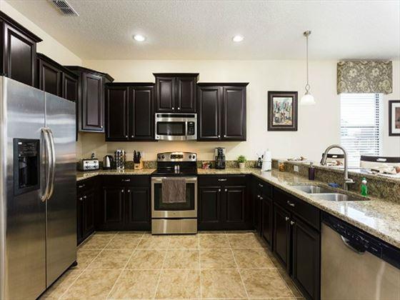 Championsgate Resort Platinum Homes Typical Kitchen