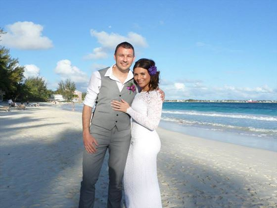 Charlotte and Glen, Barbados