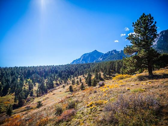 Mountains at Chautauqua Park, Colorado