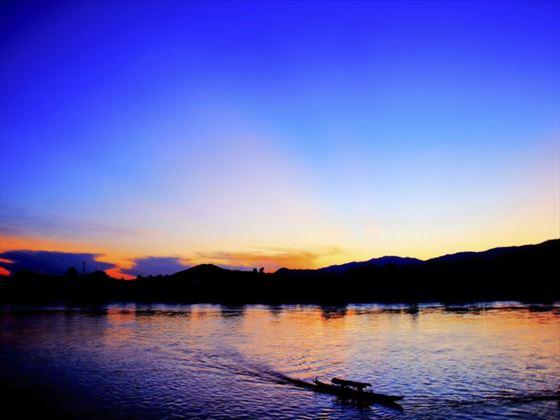 Sunset at Chiang Rai