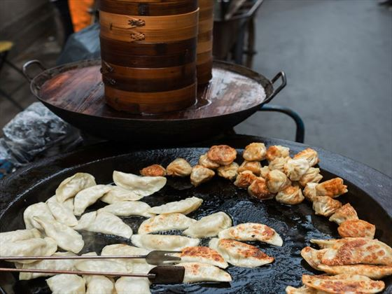 Street food in Shanghai