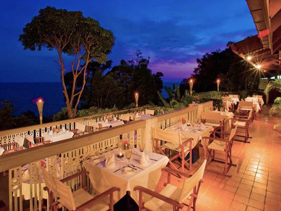 Cliff restaurant at Centara Villas Phuket