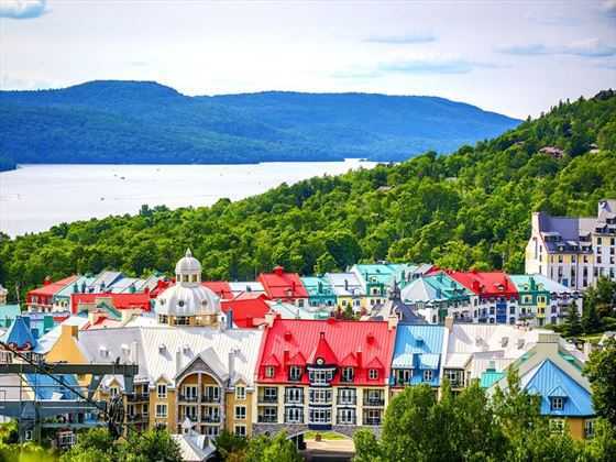 Colourful Mont Tremblant Village, Quebec