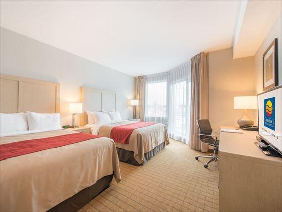 Comfort Inn & Suites Campbell River, Ocean View Deluxe Room