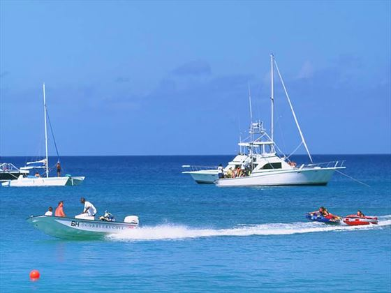 Complimentary watersports at Cobblers Cove Hotel