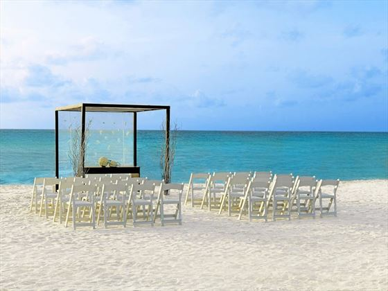 Your Classic wedding setting at Le Blanc