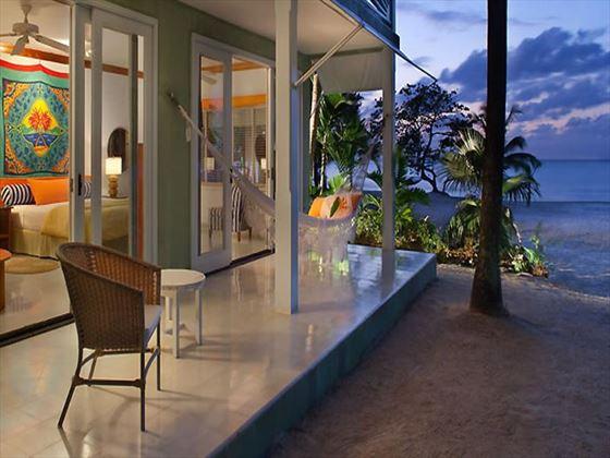Couples Negril Beachfront Suite terrace